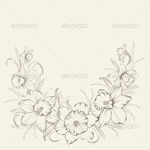 December Birth Flower Tattoo Black And White: Image From Https://0.s3.envato.com/files/83394108/pv_590