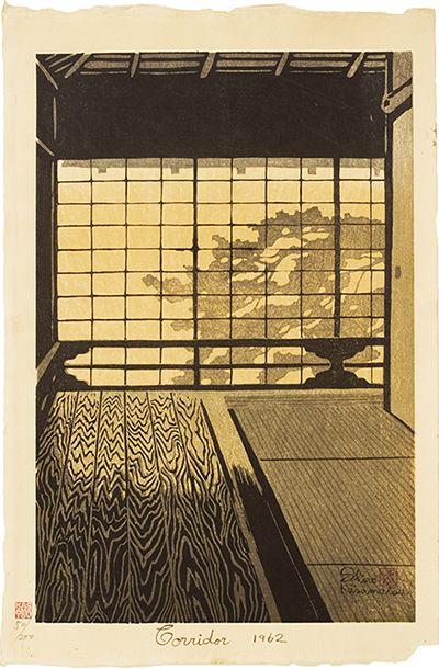 1962 - Kasamatsu, Shiro - Corridor:
