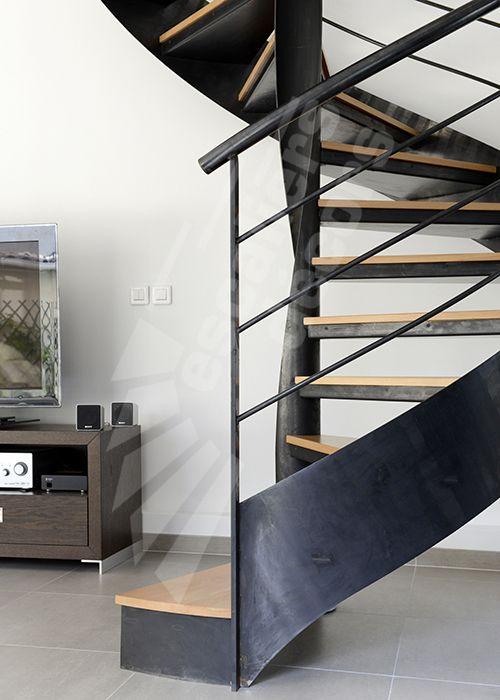 131 best images about un escalier h lico dal en colima on for Construction escalier interieur
