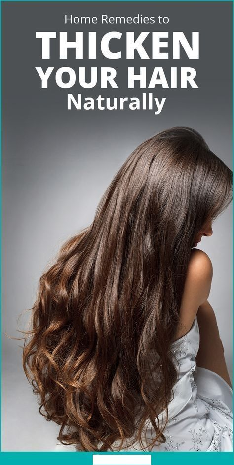 how to make hair grow longer and thicker