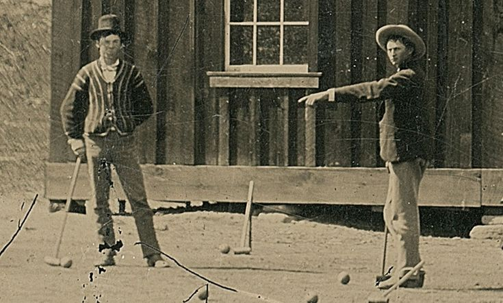 Photo of Billy the Kid (left) - Billy the Kid – Wikipedia