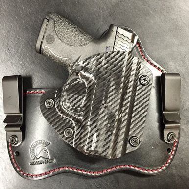 IWB concealed carry holsters made of Kydex and Leather