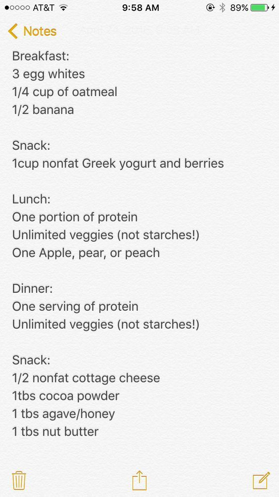 Victoria Secret diet plan! Don't forget to add in vigorous exercises daily as this plan includes lots of protein. Easy to follow and easy to prep for. - EStarProductions