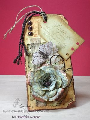 Heartfelt Creations | Botanical Floral Tag