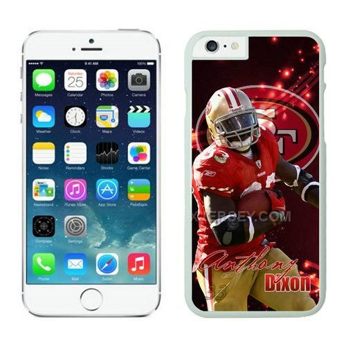 http://www.xjersey.com/san-francisco-49ers-iphone-6-cases-white23.html SAN FRANCISCO 49ERS IPHONE 6 CASES WHITE23 Only $21.00 , Free Shipping!