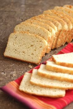 Tender High Rising Gluten Free Sandwich Bread recipe by Barefeet In The Kitchen - This is in the bread maker right now. Hope it comes out ok.  I subbed corn starch for tapioca starch.  Put it on rapid bake 2 lb. setting.