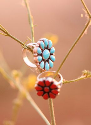 Southwestern rings from Don Lucas Jewelry