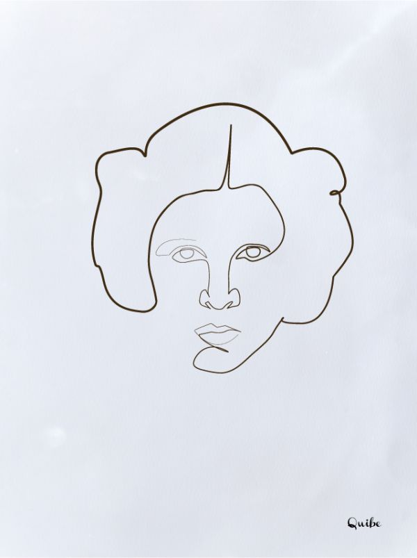 Continuous Line Drawing Quibe : Best one line drawings images on pinterest wire art