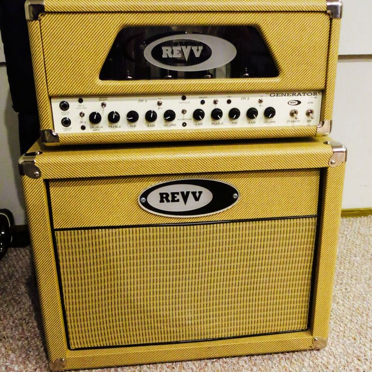 Just joined the Revv family. Best amps we've ever played without a doubt!