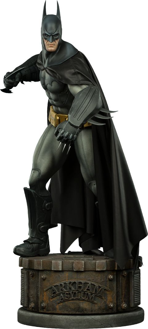 DC Comics Batman Arkham Asylum Premium Format(TM) Figure by | Sideshow Collectibles