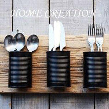 DIY-Erholung: Dosen in dekorative Objekte umleiten #Dekorative #Dosen #Recovery   – diy dekoration homes