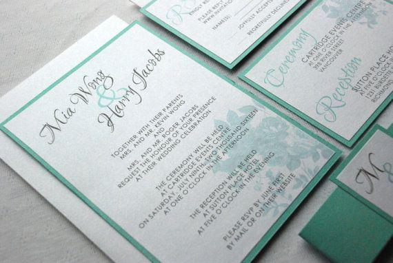 56 best Wedding Invitations images on Pinterest