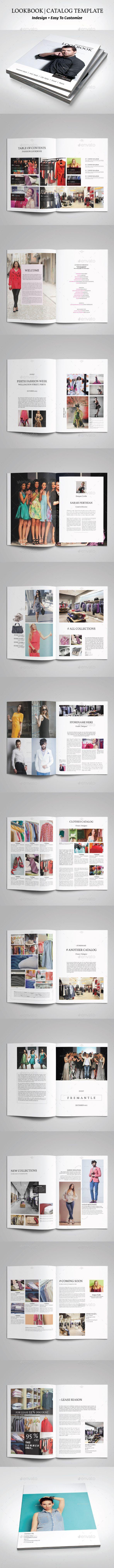 Lookbook Template #design Download: http://graphicriver.net/item/lookbook-template-2/12900905?ref=ksioks