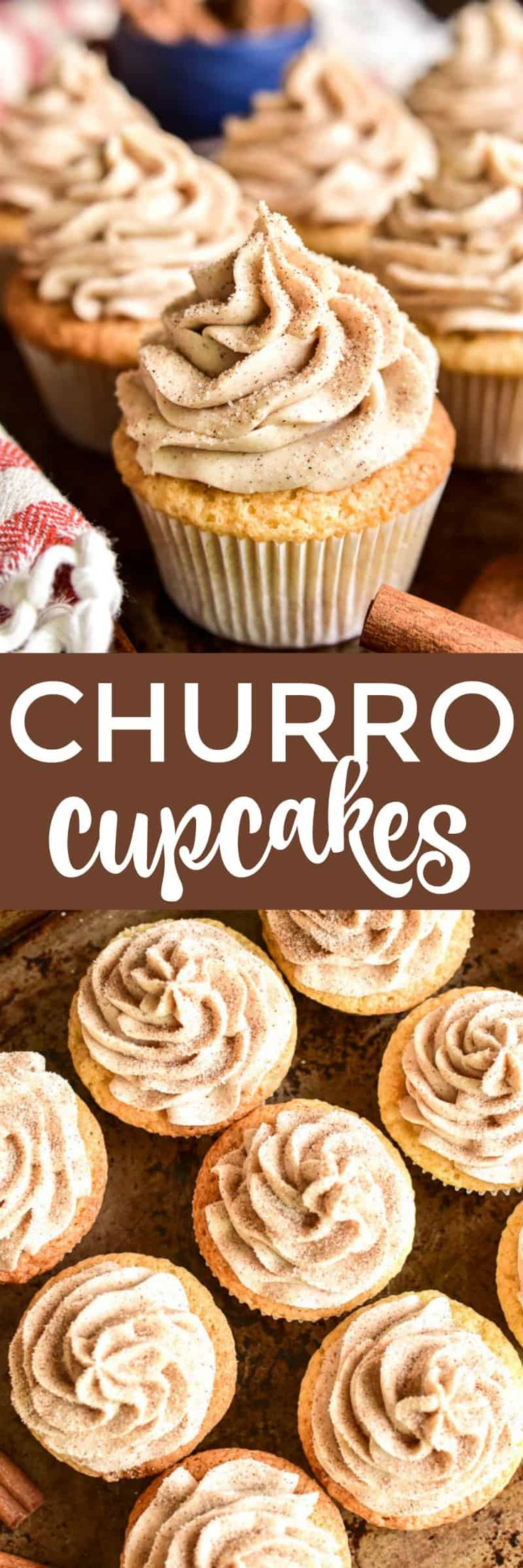 Churro Cupcakes | | Lemon Tree Dwelling