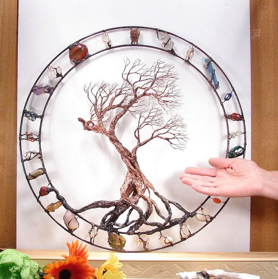 Hey, I found this really awesome Etsy listing at https://www.etsy.com/listing/272196242/metal-tree-wall-art-wire-tree-of-life