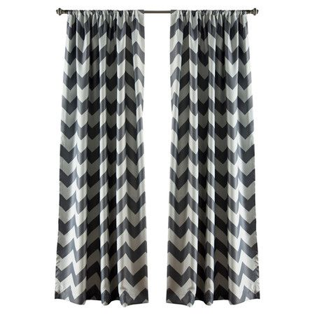 Add A Bold Pop Of Pattern To Your Living Room Or Master Suite With This Stylish Curtain Panel