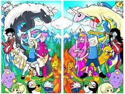 Double Adventure time world