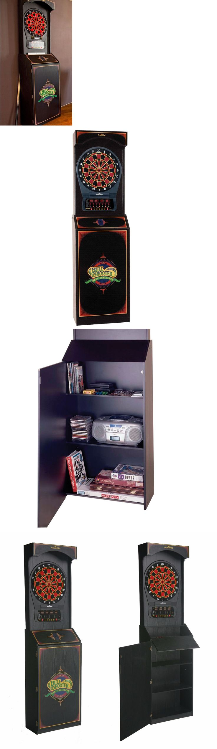 Dart Boards 72576: Electronic Dart Board Arcade Style Cabinet Arachnid Cricket Pro Game Room Expert -> BUY IT NOW ONLY: $397.96 on eBay!