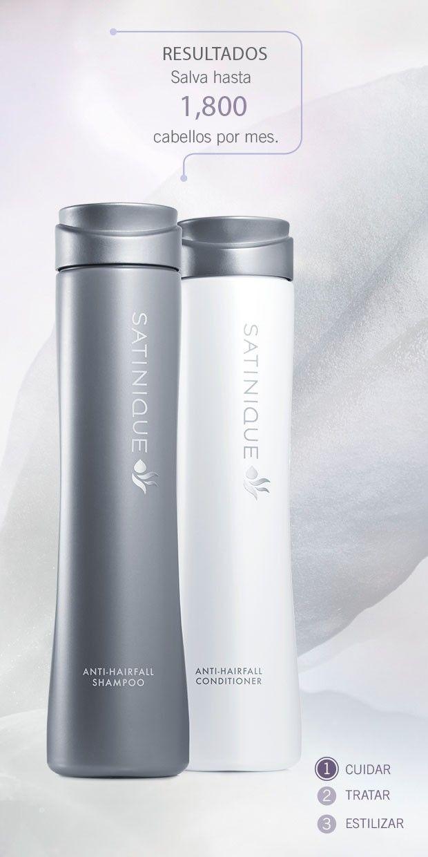Shampoo y acondicionador anticaída Satinique