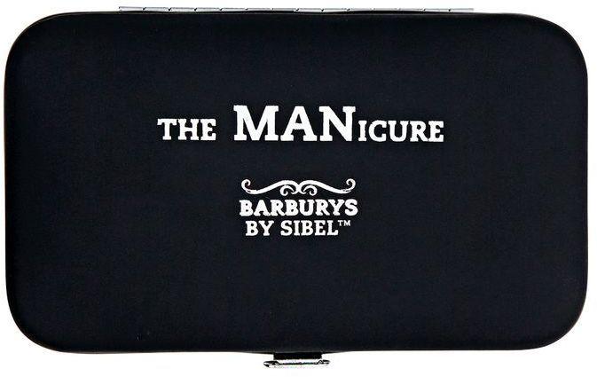 Barburys Men's 5-Piece Manicure Set