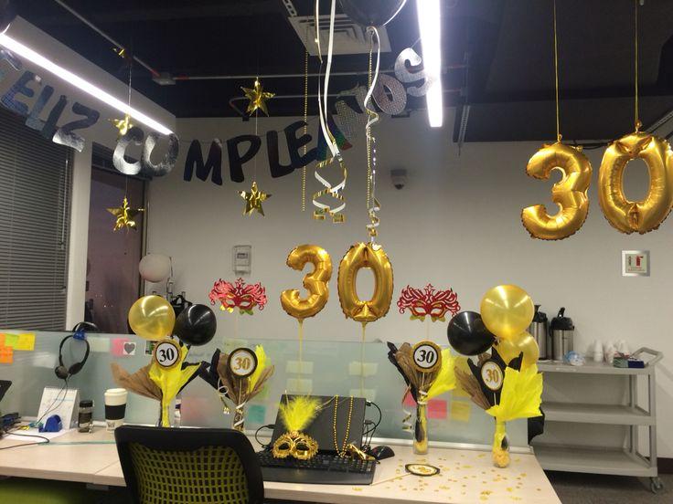 office birthday decorations. 30u0027s birthday party office decorations u
