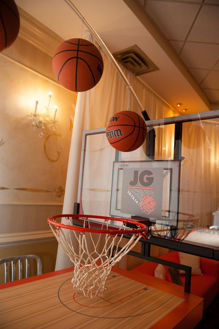 73 Best Images About Basketball Bar Mitzvah Theme On