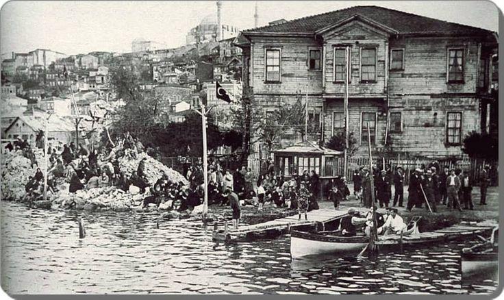 Haliç   Fener iskelesi - 1930 lar