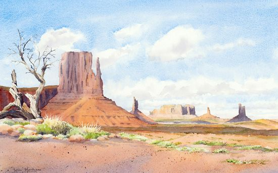 Monument Valley Colours