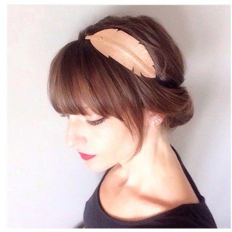 headband Plume -2coloris-