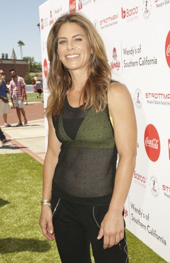 Jillian Michaels at the Dave Thomas Foundation for Adoption's Kickball for a Home tournament in L.A.