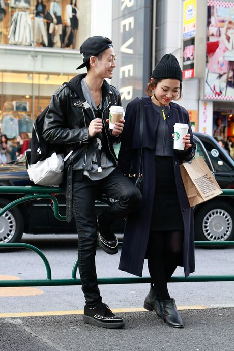 Street Snap [yuto / miki] | Harajuku | Fashionsnap.com