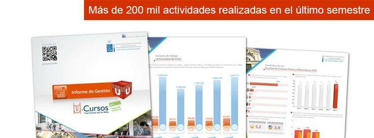 Revisa las estadísticas del informe de gestión U-Cursos segundo semestre 2013 en http://uchile.cl/u99010