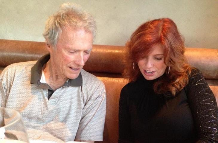 Wonderful evening with Clint Eastwood and daughter, Kimber Eastwood