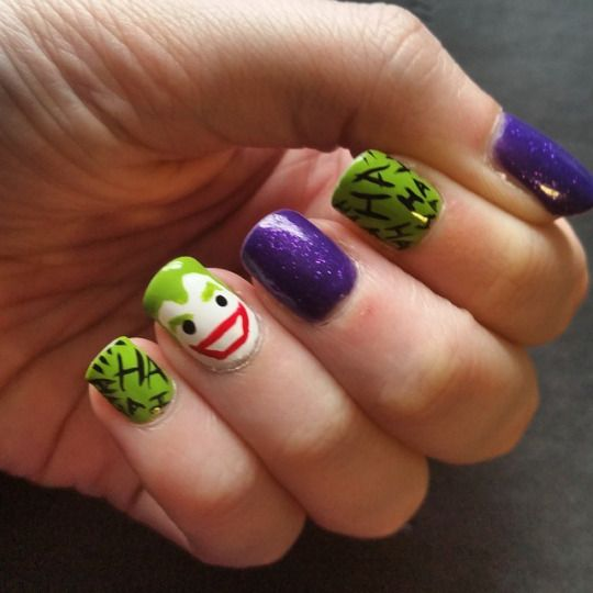 Joker Nails Bizarre Obsessions