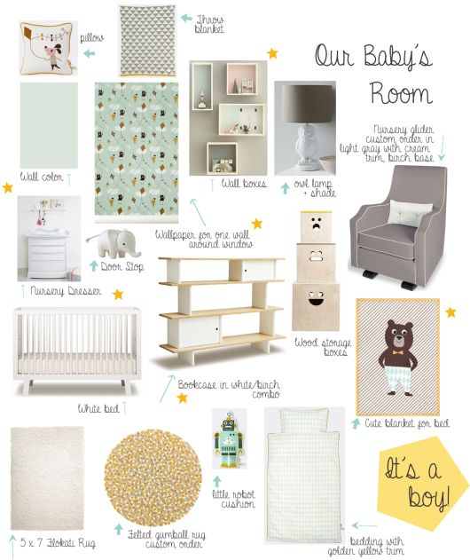 @Holly Elkins Becker is decorating for her baby boy... and we love seeing some products #polkadotpeacock carries on her inspiration board, including @Heather Tolle NYC, #yummishop, @Rena Powell LIVING and more! /ES