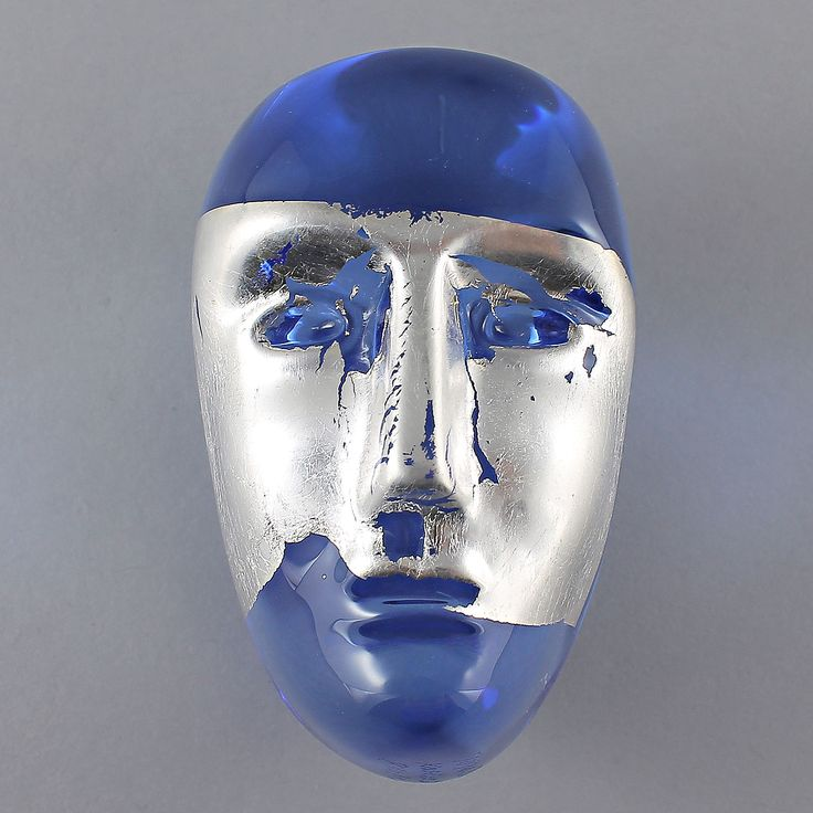 Bertil Vallien (Brains) Fascinating Glass Head Jiménez