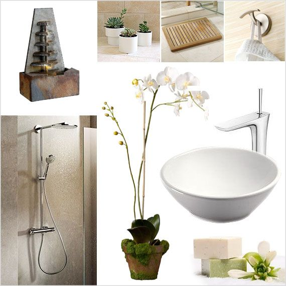 Zen Bathroom Click On The Image To Explore Escape Style Spa Bathroom Pinterest Salle De