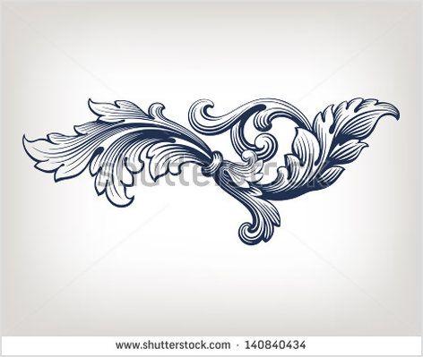 die 25 besten barock tattoo ideen auf pinterest unter brust tattoo brustbein tattoo design. Black Bedroom Furniture Sets. Home Design Ideas