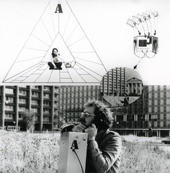 Ugo La Pietra, Ciceronelettronico (Electric Guide), 1972