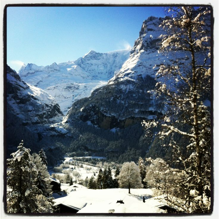 Nice place both in summer and in winter. #Grindelwald #Bern #BernerOberland