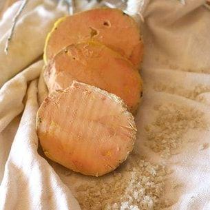 Foie gras au torchon express