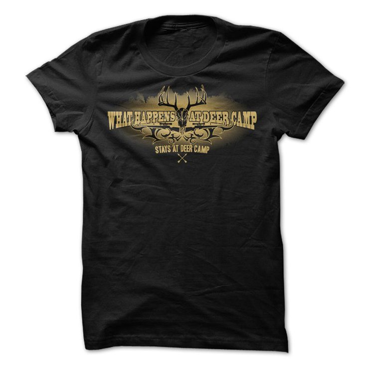 #tshirts... Awesome T-shirts (Deal of the Day) What Happens At Deer Camp . TshirtsNetwork  Design Description: Rule quantity certainly one of Deer Camp  What occurs at Deer Camp, stays at Deer Camp.  If you don't absolutely love this Shirt, you'll SEARCH your favorite one throug...