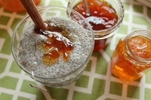 Earl Grey Chia Pudding with Marmalade