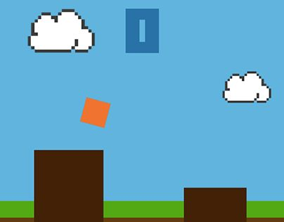 """Check out new work on my @Behance portfolio: """"Jump! - Game App"""" http://on.be.net/1xIT50c"""
