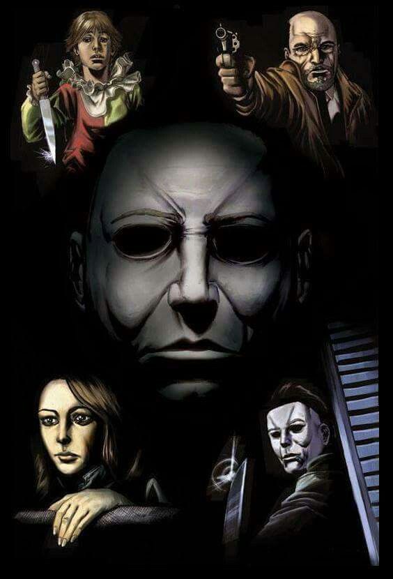 slasher movies horror movies horror icons michael myers halloween movies classic movies jason voorhees monsters film - Halloween Scary Movies