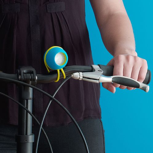 Spring <3 bike: bring your music with you! #Kakkoii portable speakers on gleest.com
