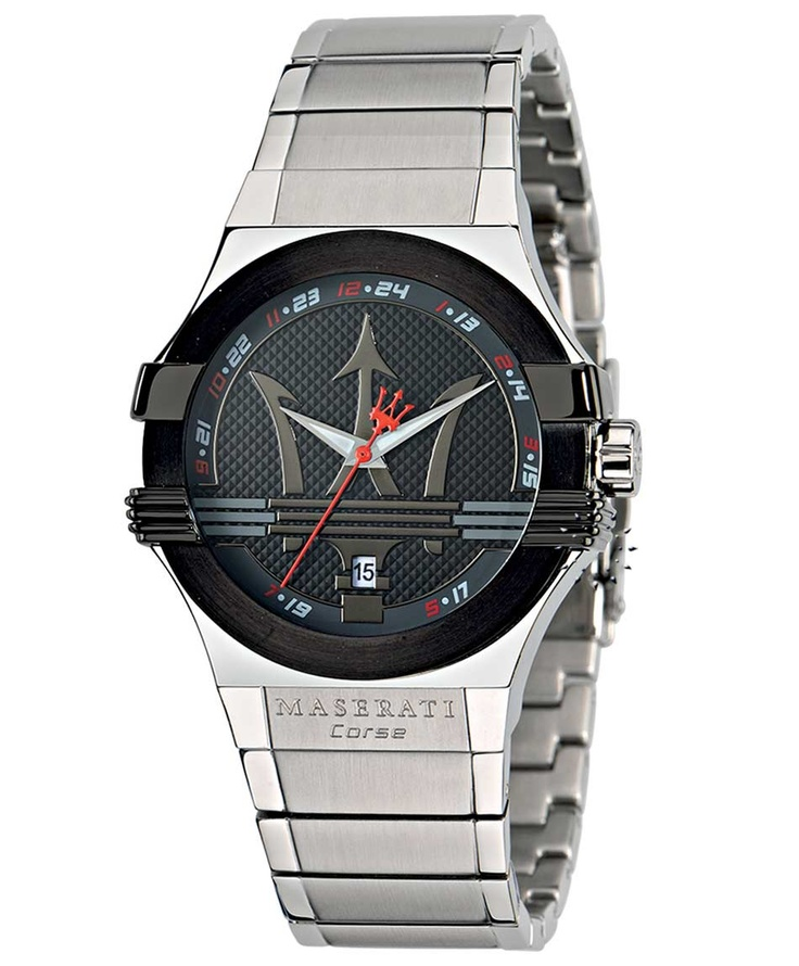 MASERATI Potenza Stainless Steel Bracelet Μοντέλο: R8853108001 Τιμή: 239€ http://www.oroloi.gr/product_info.php?products_id=33447