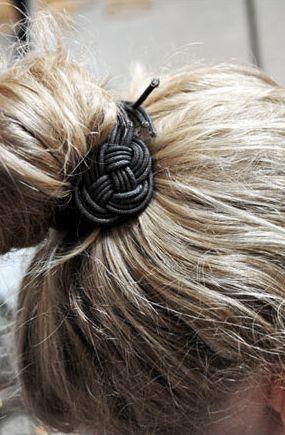 nice hair accessory: Hair Ideas, Beauty Hair, Hair Styles Accessories, Hairs, Cute Ideas, Cute Hair, Hair Accessories, Accessories Por