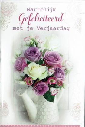 Hartelijk gefeliciteerd met je verjaardag!  Mooie verjaardagskaart voor vrouwen