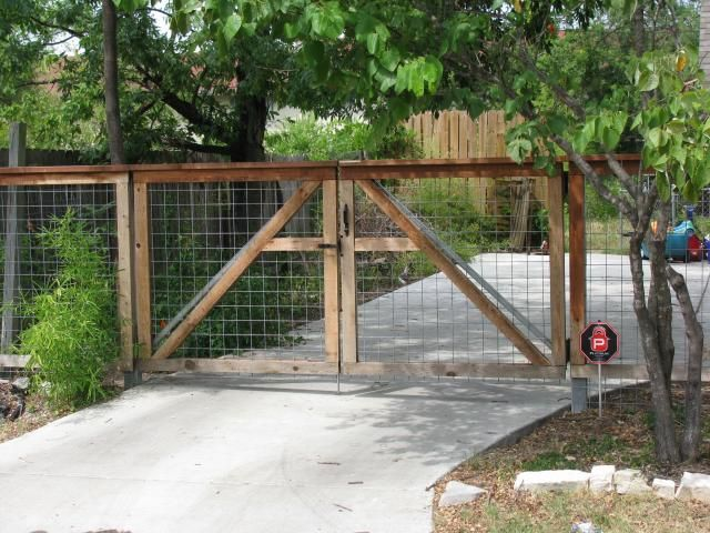Wire Fences And Gates